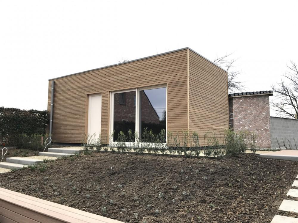 Bijgebouw ralus for Bijgebouw tuin