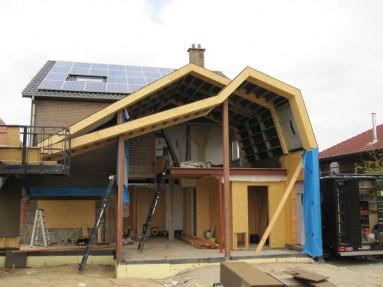 Wat kost een aanbouw in houtskelet ralus for Wat kost een nieuwbouw