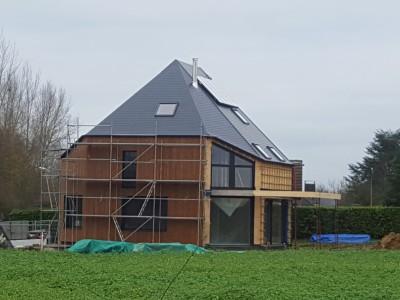 Een modulaire nieuwbouw in houtskeletbouw