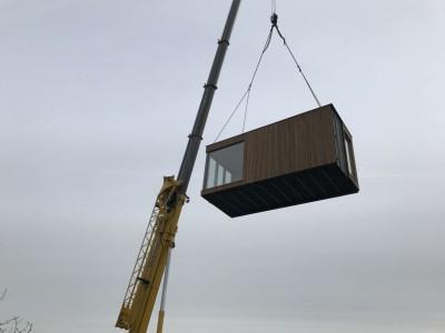 Modulaire aanbouw in houtskeletbouw