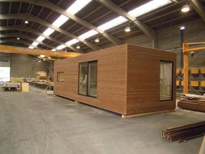 Een modulair bijgebouw in houtskeletbouw