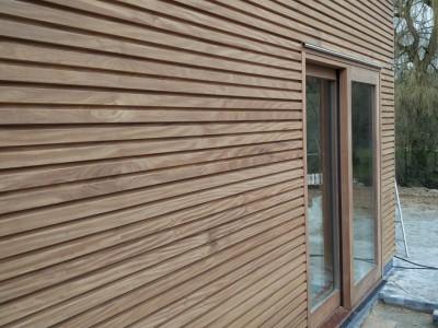 Aanbouw in houtskeletbouw