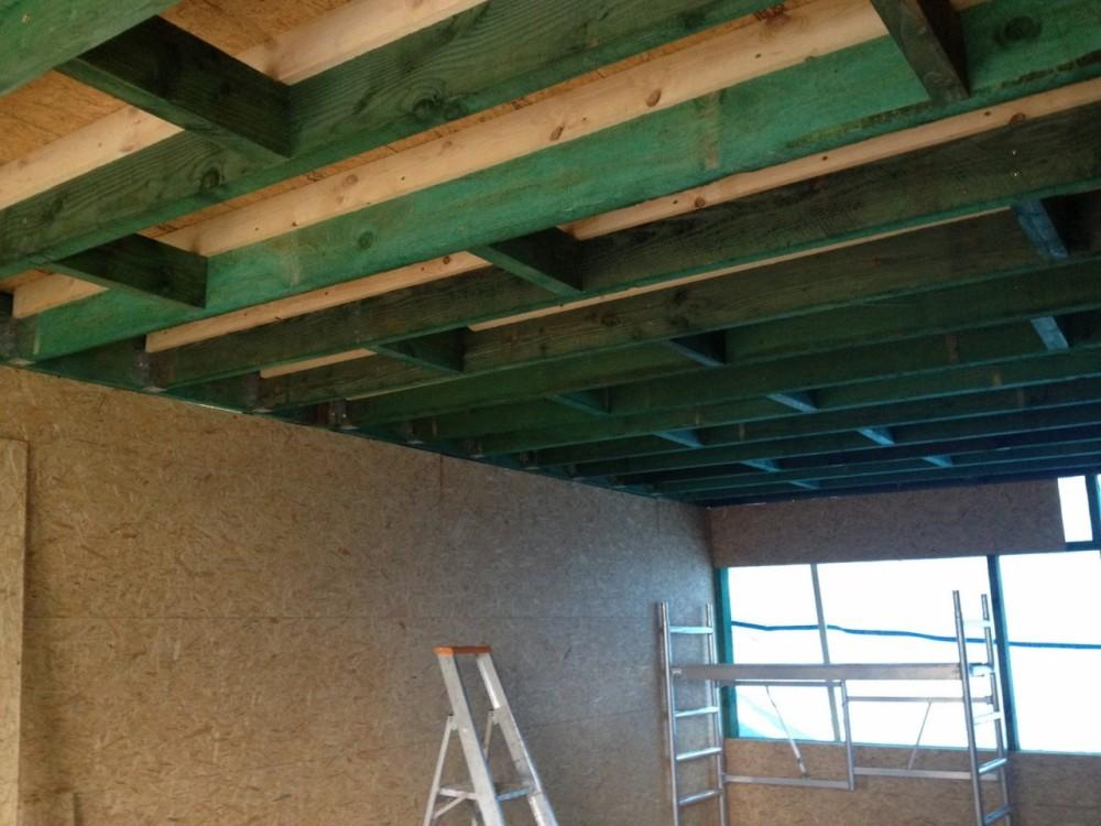 Etage suppl mentaire en ossature bois ralus for Etage en bois
