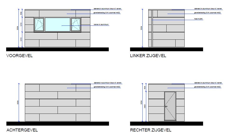 Projet en ex cution extension en ossature bois ralus for Projet extension