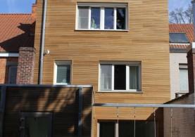 Aanbouw / bijgebouw in houtskeletbouw in Gentbrugge