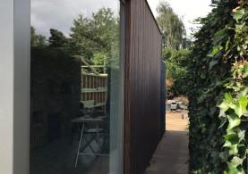 Bijgebouw in houtskeletbouw in Diepenbeek