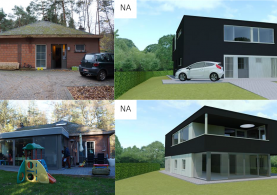 Extra verdieping in houtskeletbouw in Vlaams-Brabant