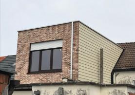 Extra verdieping / bijgebouw in houtskeletbouw in Lier