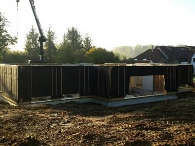 Nieuwbouw houtskelet Passiefbouw