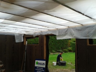 Aanbouw / bijgebouw in houtskeletbouw