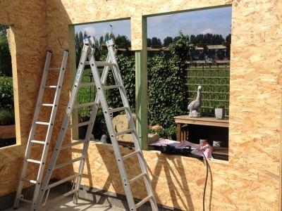 Zorgwoning in houtskeletbouw in Assenede