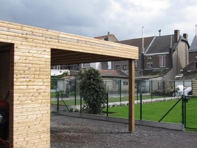 Bijgebouw in houtskeletbouw in Merelbeke