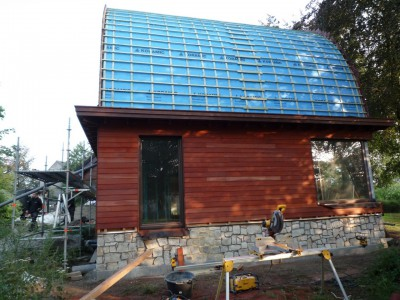 Nieuwbouw en aanbouw in houtskeletbouw in Gavere