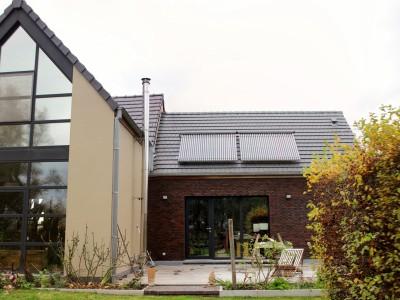 Aanbouw / bijgebouw in houtbouw in Oost-Vlaanderen