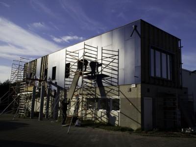 Optopping / bijgebouw in houtskeletbouw in Tongeren