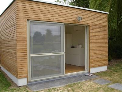 Bijgebouw in houtskeletbouw in Roosdaal