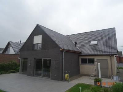 Aanbouw / bijgebouw in houtskeletbouw op bestaande aanbouw in Diksmuide