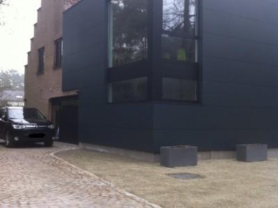 Aanbouw / bijgebouw met verdieping in houtskelet in Keerbergen
