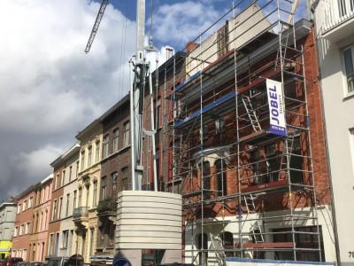 Extra verdieping in houtskeletbouw in Gent