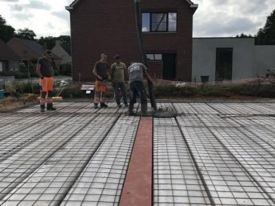 Een nieuwbouw in houtskeletbouw