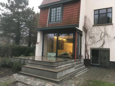 Aanbouw in houtskeletbouw in regio Gent