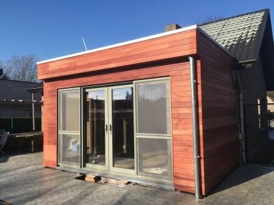 Aanbouw / bijgebouw in houtskelet
