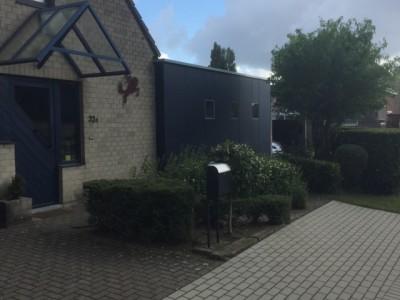 Aanbouw / bijgebouw in houtskeletbouw in Grembergen