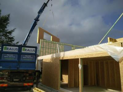 Nieuwbouw lage energiewoning in Opwijk