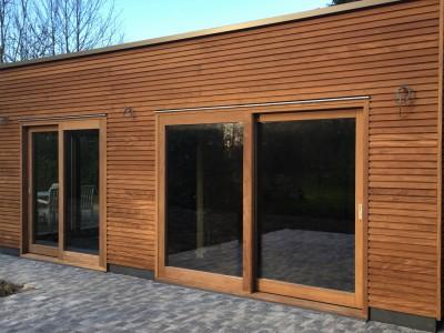 Aanbouw bijgebouw in houtskeletbouw in Herne