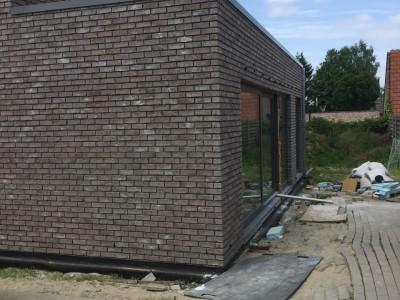 Nieuwbouw lage energiewoning in houtskeletbouw in Opwijk