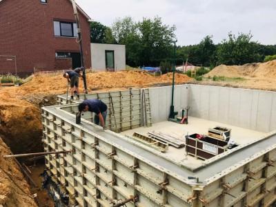Een nieuwbouw in houtskeletbouw in Genk