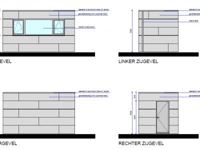 Aanbouw / bijgebouw in houtskeletbouw in Vlaams-Brabant