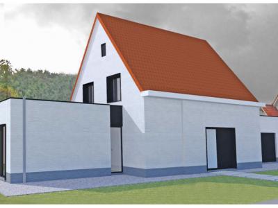 Nieuwbouw houtskeletbouw BEN-woning in Zwijndrecht