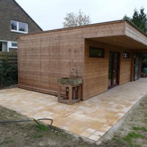 Bijgebouw in tuin ralus for Bijgebouw tuin